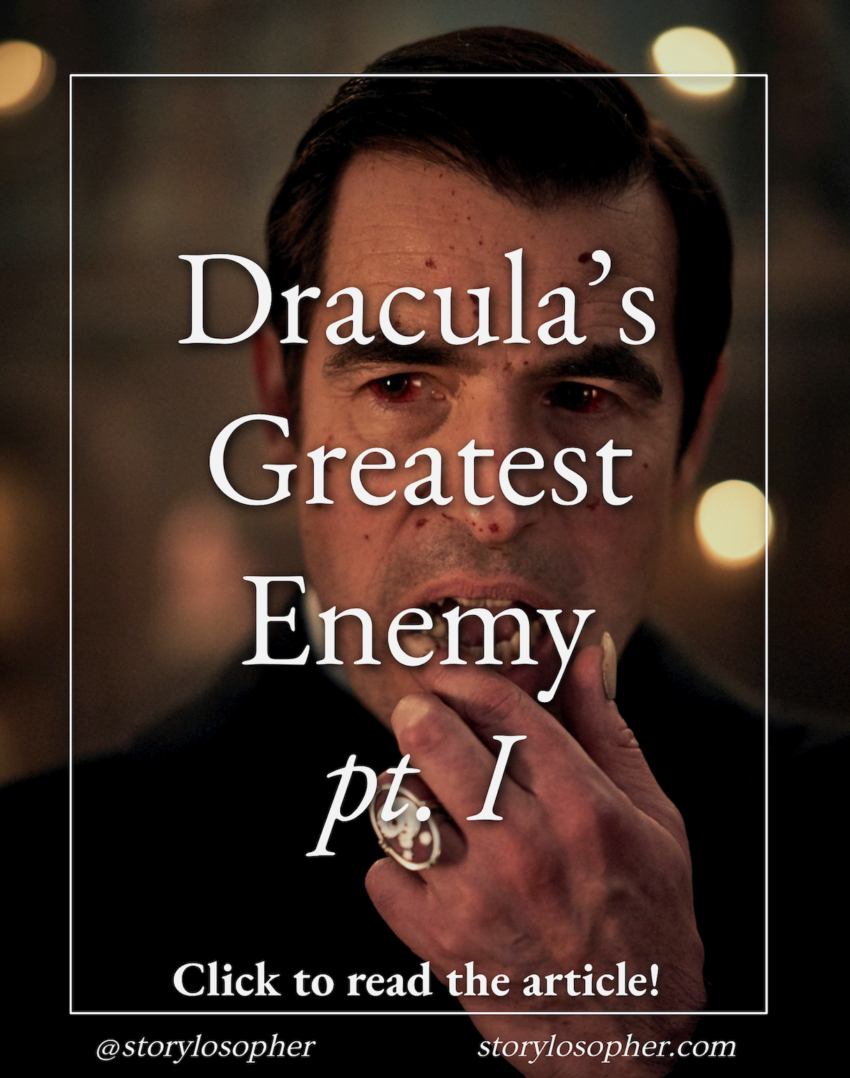 What Is Dracula S Biggest Enemy Dracula Immortality Tv Netflix Vampires Philosophy What Happened To Us Immortal