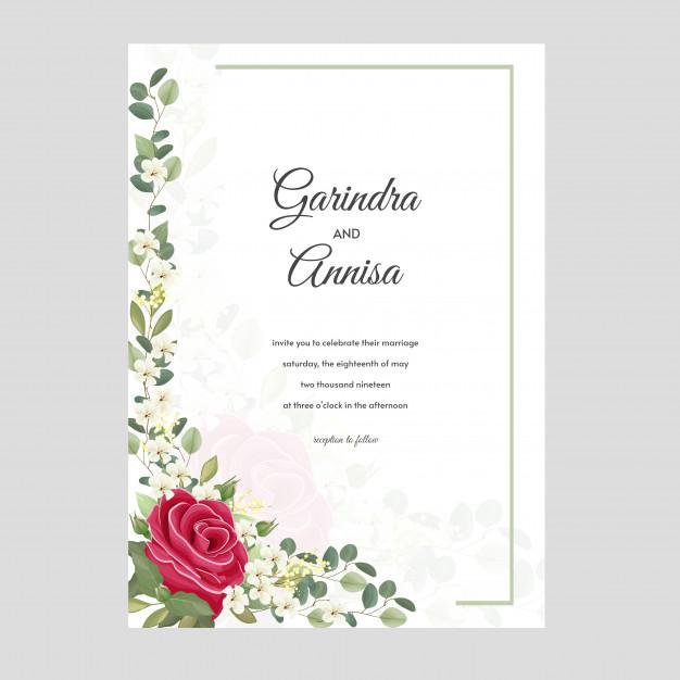 Pin on wedding invitation cards termplate