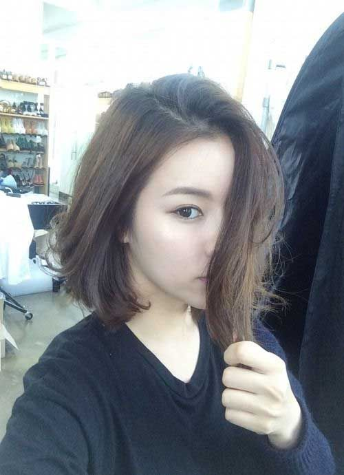 Blonde Hairstyle For Asian Straight Bob Hair Asian Hair Hair Color Asian Medium Hair Styles