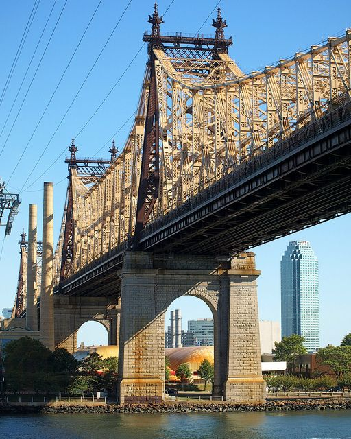 Ed Koch Queensboro Bridge Over East River Manhattan Queens New York City Queens New York New York City Queens Ny