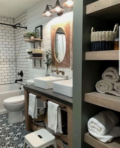 Home decor outlets bathroom inspiration our haven bliss in farmhouse ideas renovations also rh pinterest