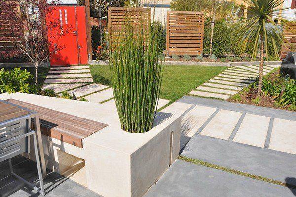 Landschaft Ideen Gartengestaltung Garten palme Pfade Pferdeschwanz - moderne dachterrasse gestalten ein gruner zufluchtsort grosstadt