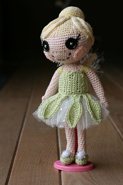 Super Cute Tinkerbell Crochet Projects | The WHOot | 640x427