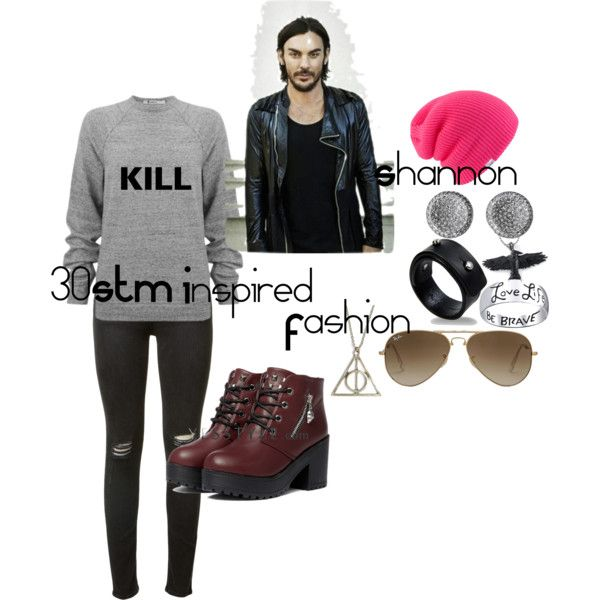 """""""30STM Inspired Fashion (Shannon) 2"""" by telley-m-jay on Polyvore"""