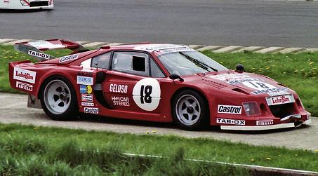 Carlo Facetti Ferrari 308 GTB Turbo Group 5 Sportscar  Vintage
