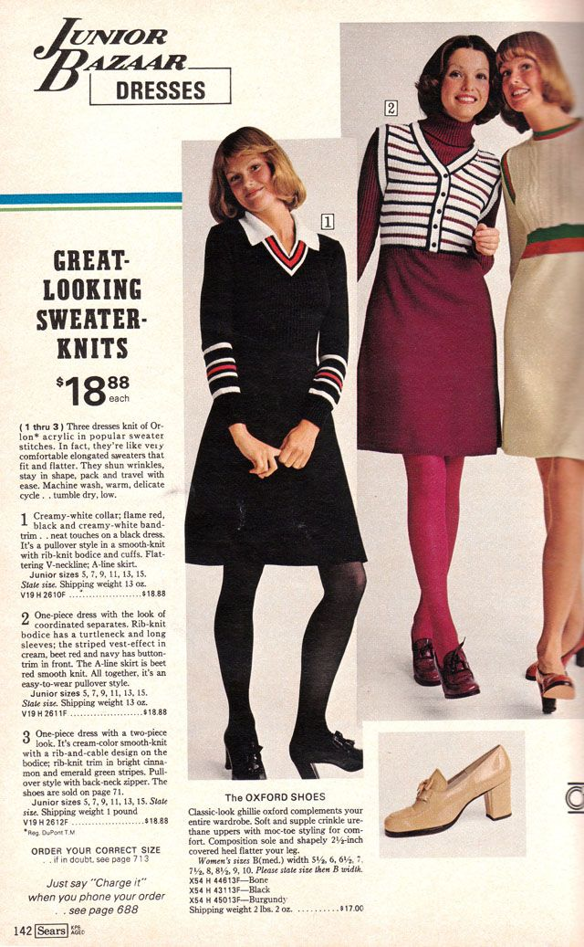 Pages Of Polyester The Sears 1974 Catalog My Favorite