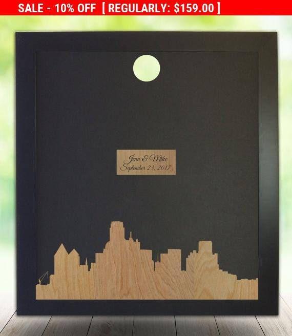 On Wedding Guest Book Dallas Texas Skyline Weddings Etsymktgtool Http
