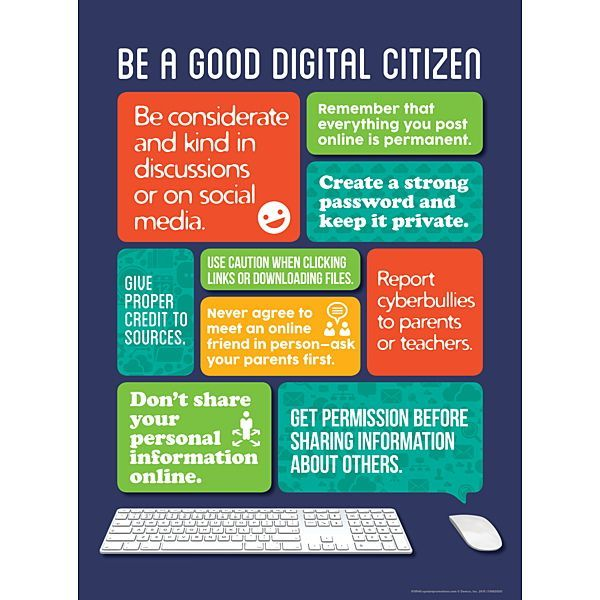Attention-grabbing online tips for kids u2014 in poster or bookmark - citizenship form