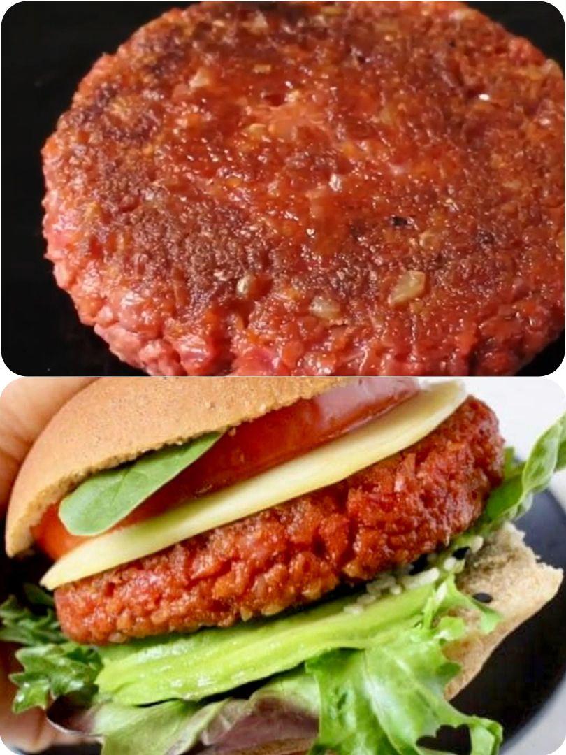 Photo of Vegan Veggie Burger Patties Recipe • Veggie Society