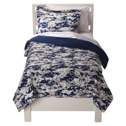 Circo Reg Camo Bed Set Blue Full Comforter Sets Bedding Sets Twin Comforter Sets
