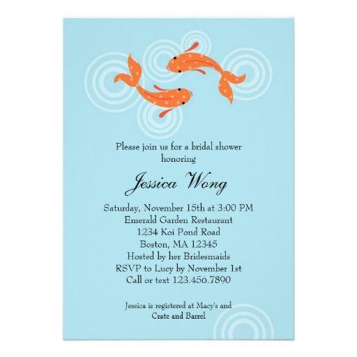 Fishing Wedding Invitation Wording
