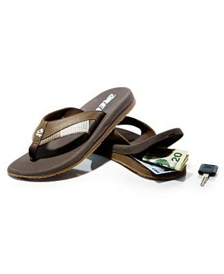 f3d10bb196f Neat idea but I already have a pair of Reef thongs. Reef sandals with  hidden compartment