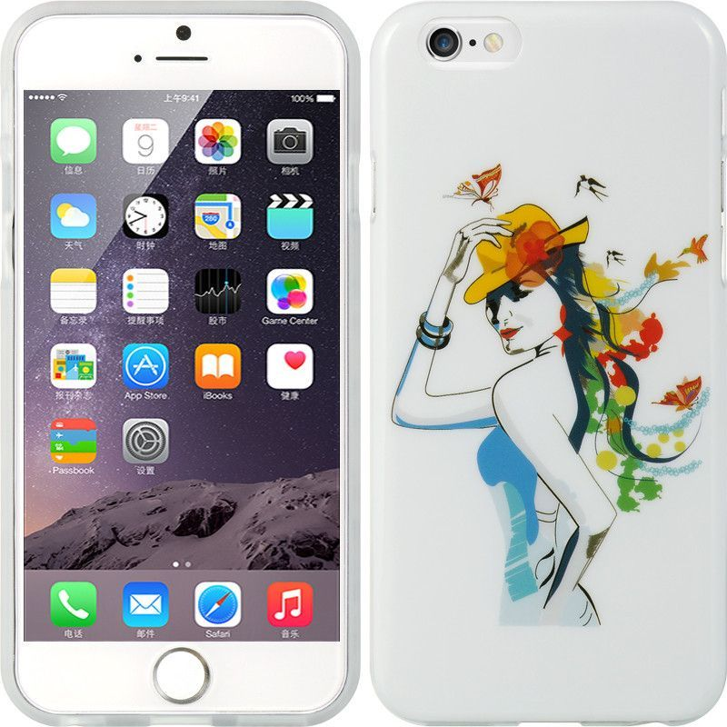 Apple Iphone 6 6s 4 7 Tpu Imd Case Water Color Drawing Yo Apple Iphone Iphone Apple Iphone 6