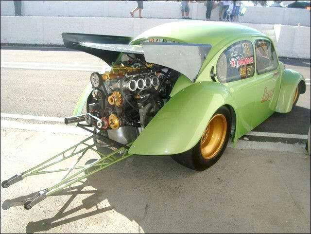 Vw volkswagen drag beetle bug
