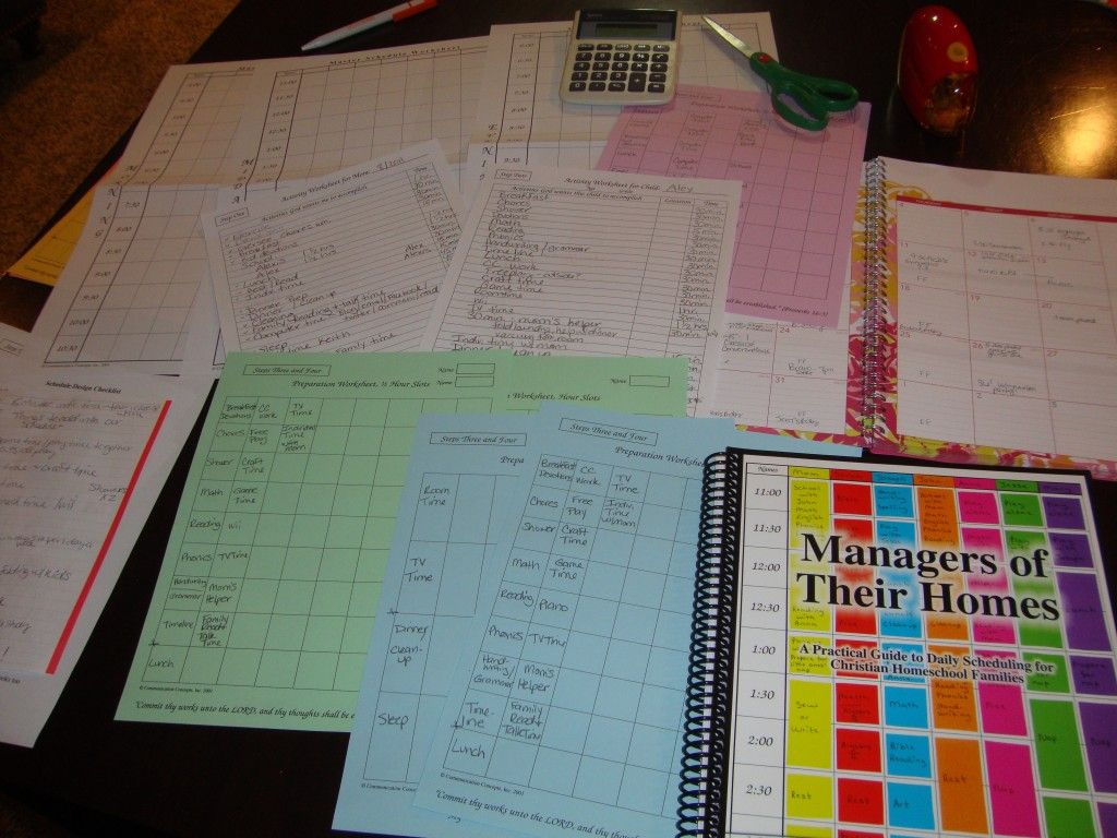 Organisation Ménage Maison My 2011 Schedules For Cleaning Meals And School A Comme