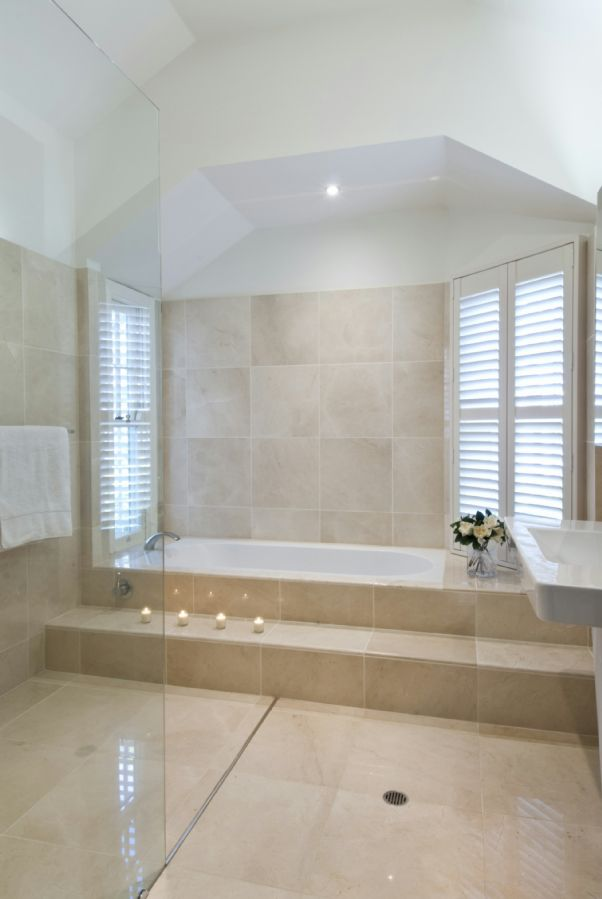 Step Up To Bath Bathroom Ideas In 2019 Built In Bath Bath Steps