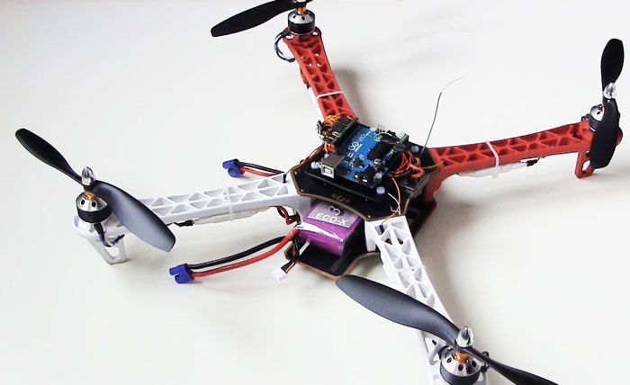 Build Arduino Quadcopter With Complete Source Code And