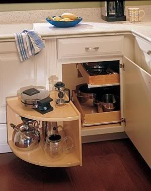 Blind Corner Cabinet Organizer Woodworking Projects Plans