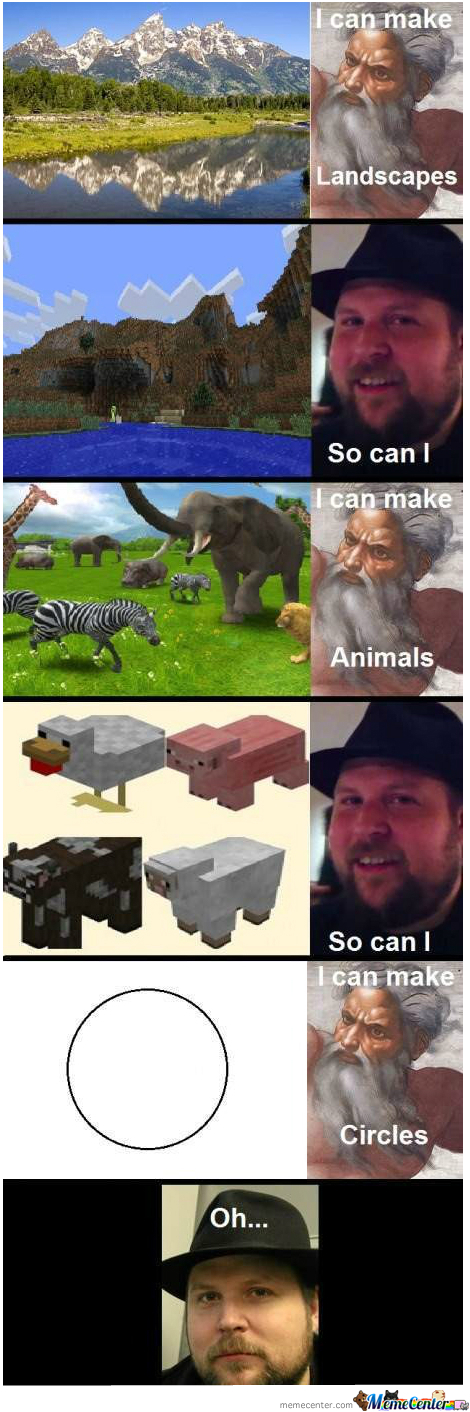 So Can I Minecraft Jokes Minecraft Funny Funny Pictures