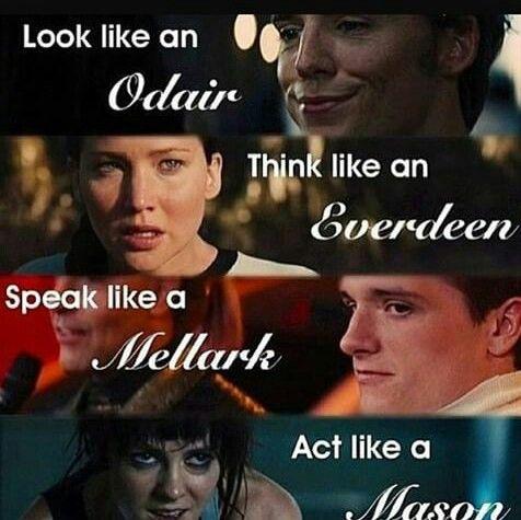 Выглядеть, как Одэйр. Думать, как Эвердин. Говорить, как Мелларк. Действовать, как Мэйсон.