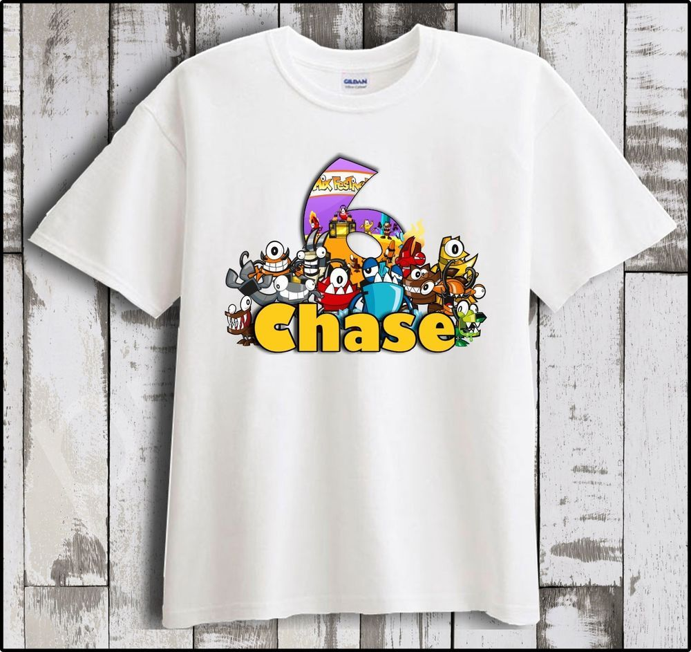 T Shirts For Birthday Party Favors