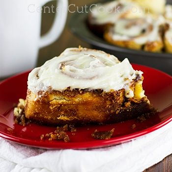 These cinnamon rolls are fast, easy, and delicious, especially when they're slathered with homemade cream cheese frosting and on the table in under an hour.
