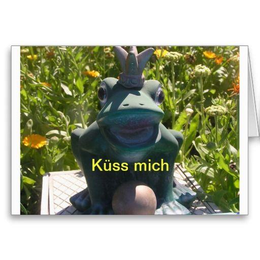 Küss mich Karte, Frosch Mrchen