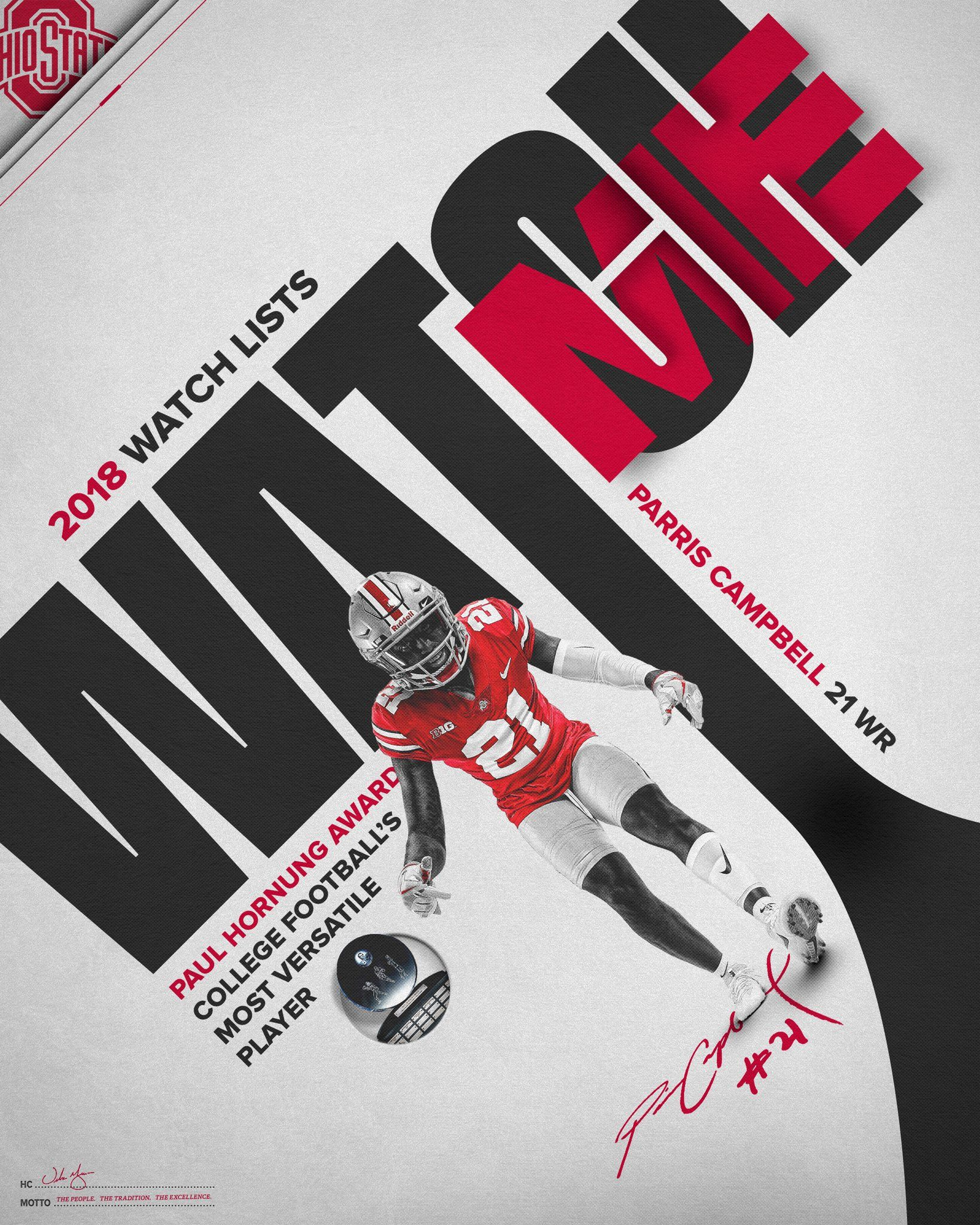 2 Twitter Parris Campbell Football Program The Ohio State University Ohio State