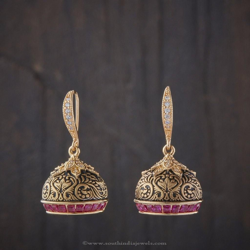 Imitation Designer Jhumka | Jhumkas Collections | Jewelry