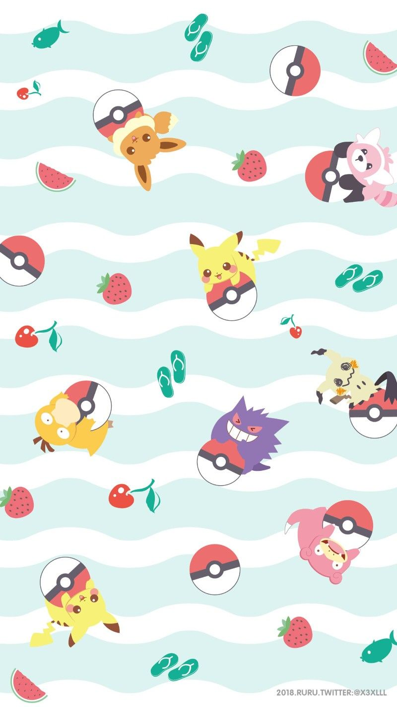 Pin By Igcat On Wallpapers Cute Pokemon Wallpaper Pokemon Backgrounds Pikachu Wallpaper