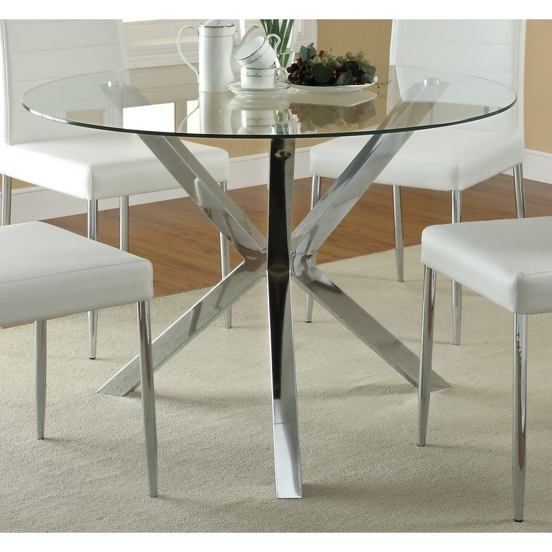 Coaster Furniture Vance Dining Table Meet