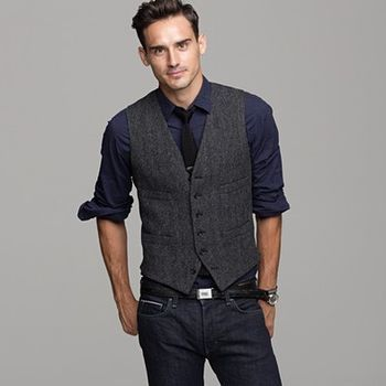 79d26f866caf Vest + Tie + Jeans? Yay or nay? | Boy Style | Mens fashion:__cat__ ...