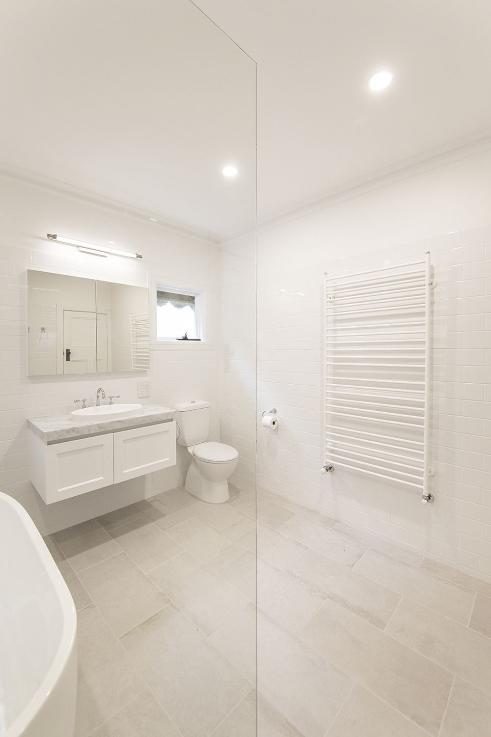 a traditional white and grey heritage bathroom renovation in rh pinterest com