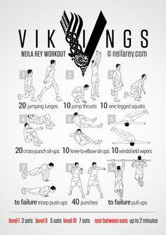 vikings workout  neilarey  fitness bodyweight