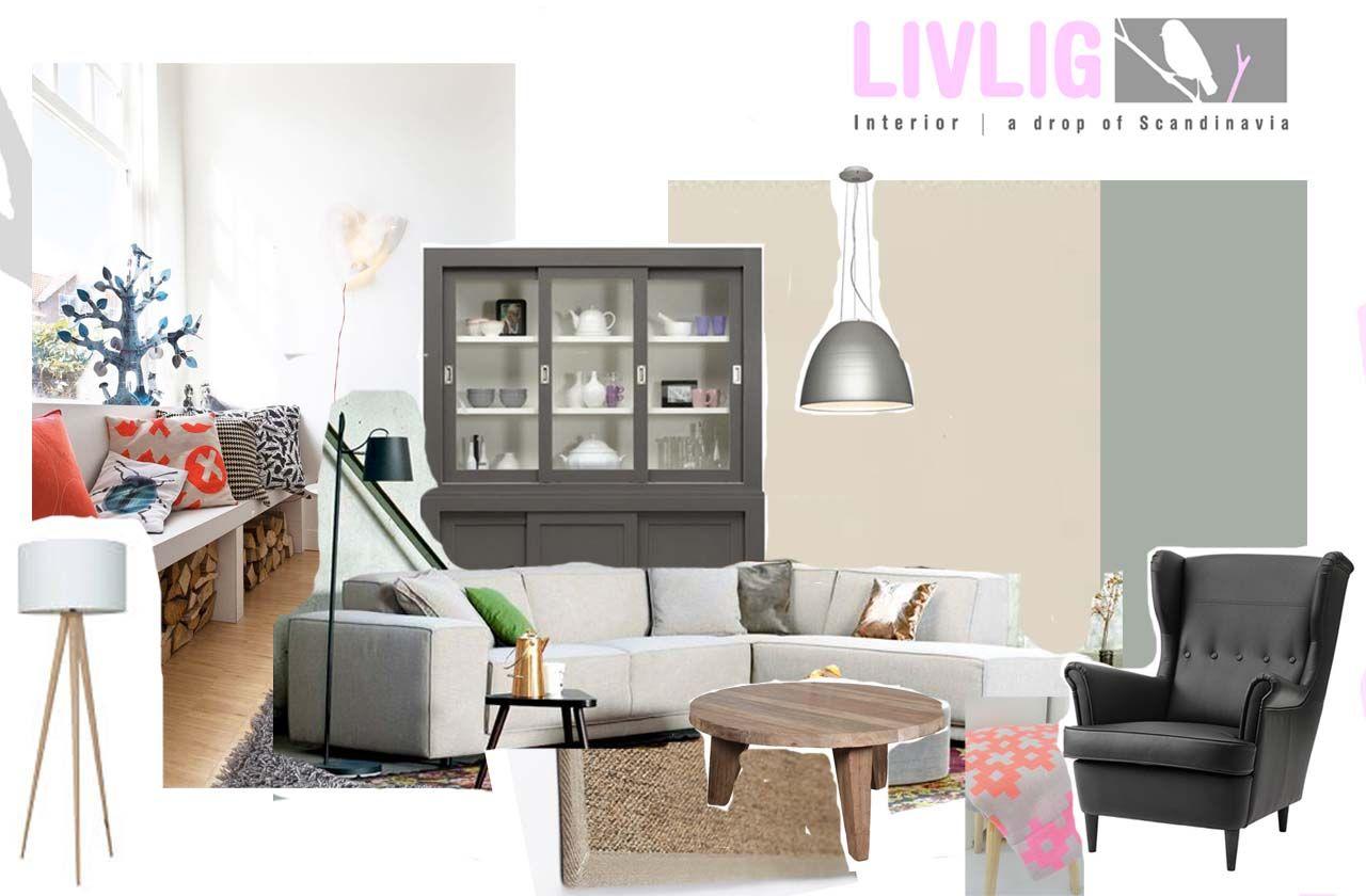 Styling Ideeen Woonkamer : Gave styling ideeën in een scandinavisch appartement roomed