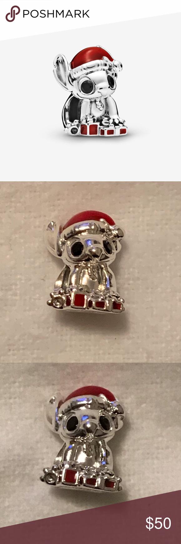 S⭕️LD‼️ Disney Stitch Christmas Pandora Charm | Pandora jewelry ...