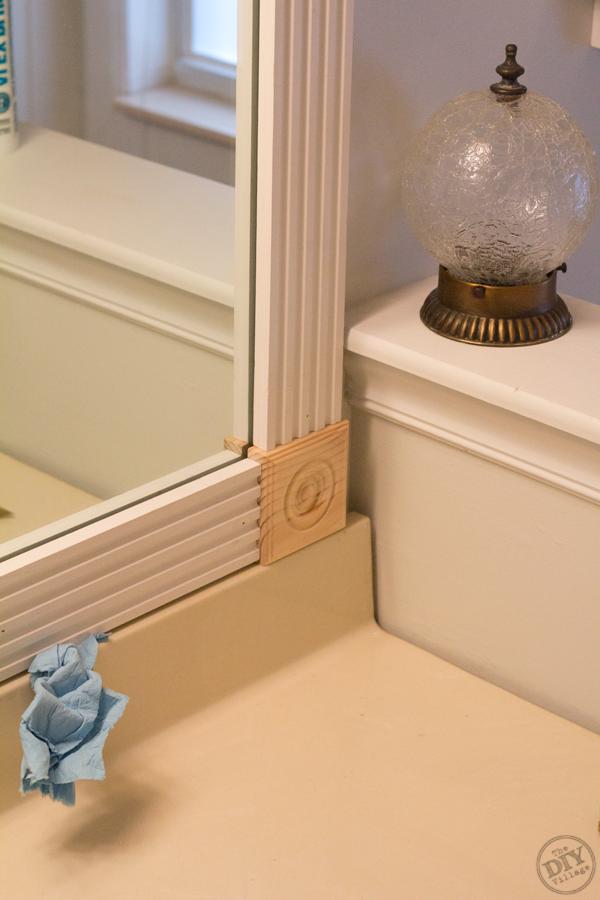 A Bathroom Makeover On A Budget Builder Grade Diy Frame