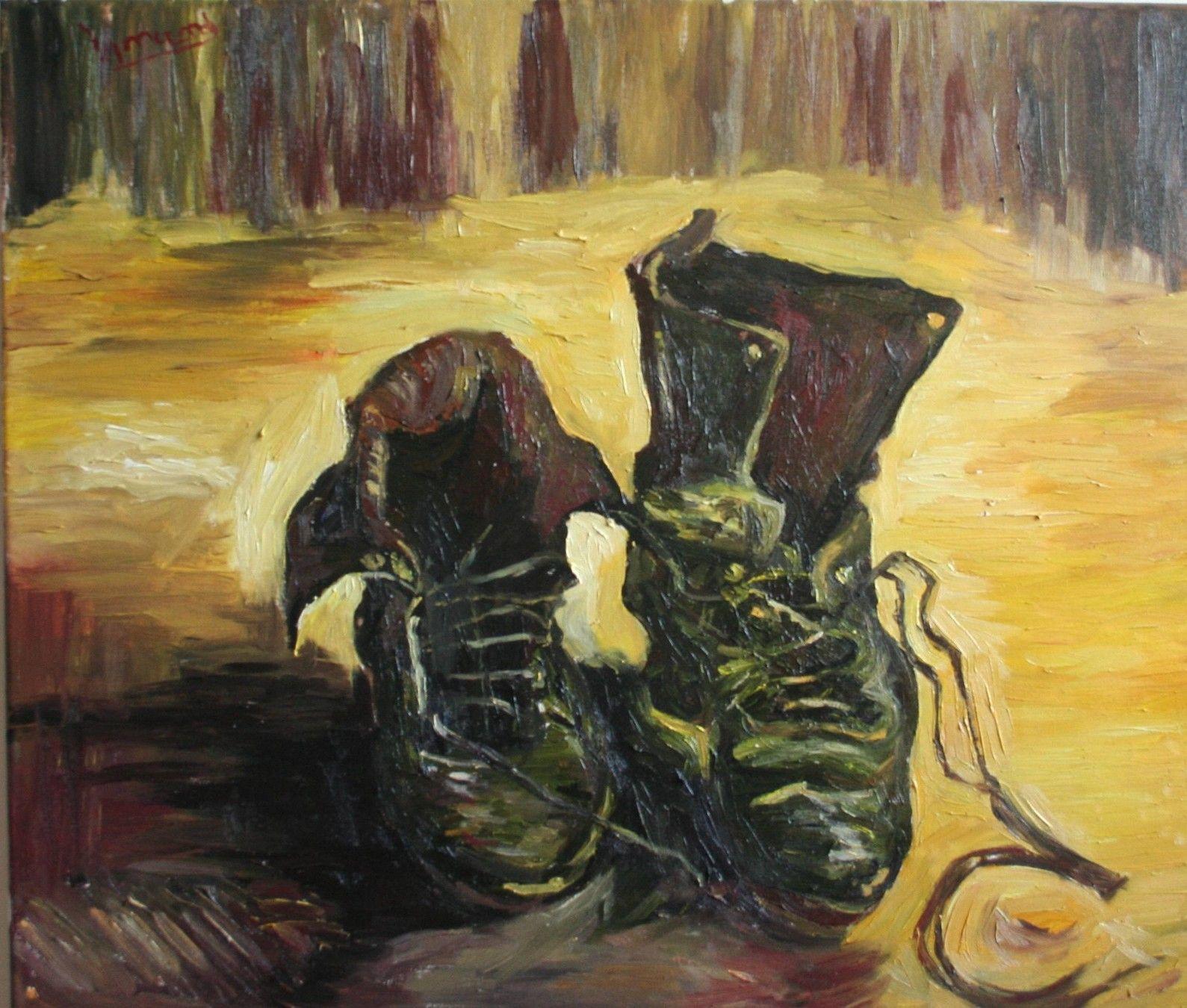 Van Gogh Buty Van Gogh Vincent Van Gogh Gogh