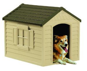 Suncast Dh250 Dog House Large Dog House Cool Dog Houses Dog Houses