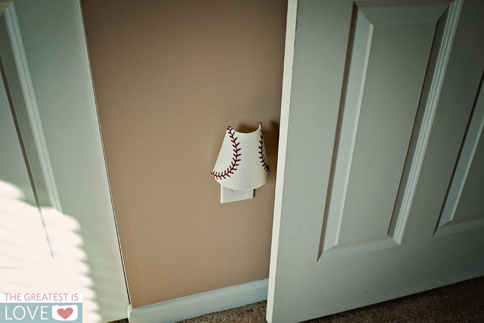 Baseball Nightlight Pottery Barn Kids Baseball Nursery Baby