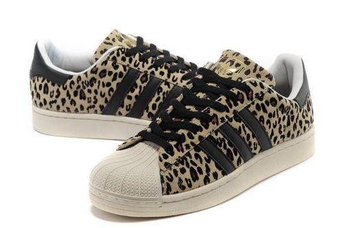 online store 64853 fa35b Adidas Superstar Mens   Womens (unisex) Beige Black Leopard Spain