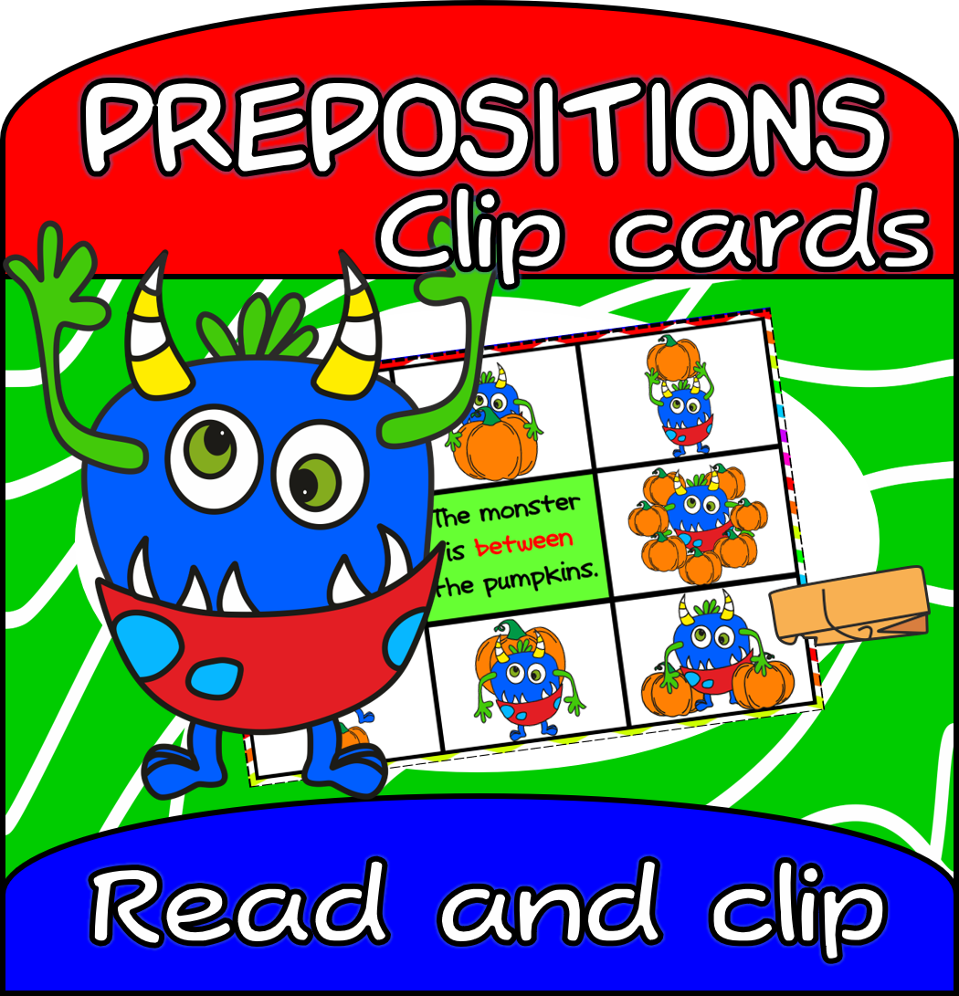 Prepositions Of Place Set Of Flashcards 2 Different
