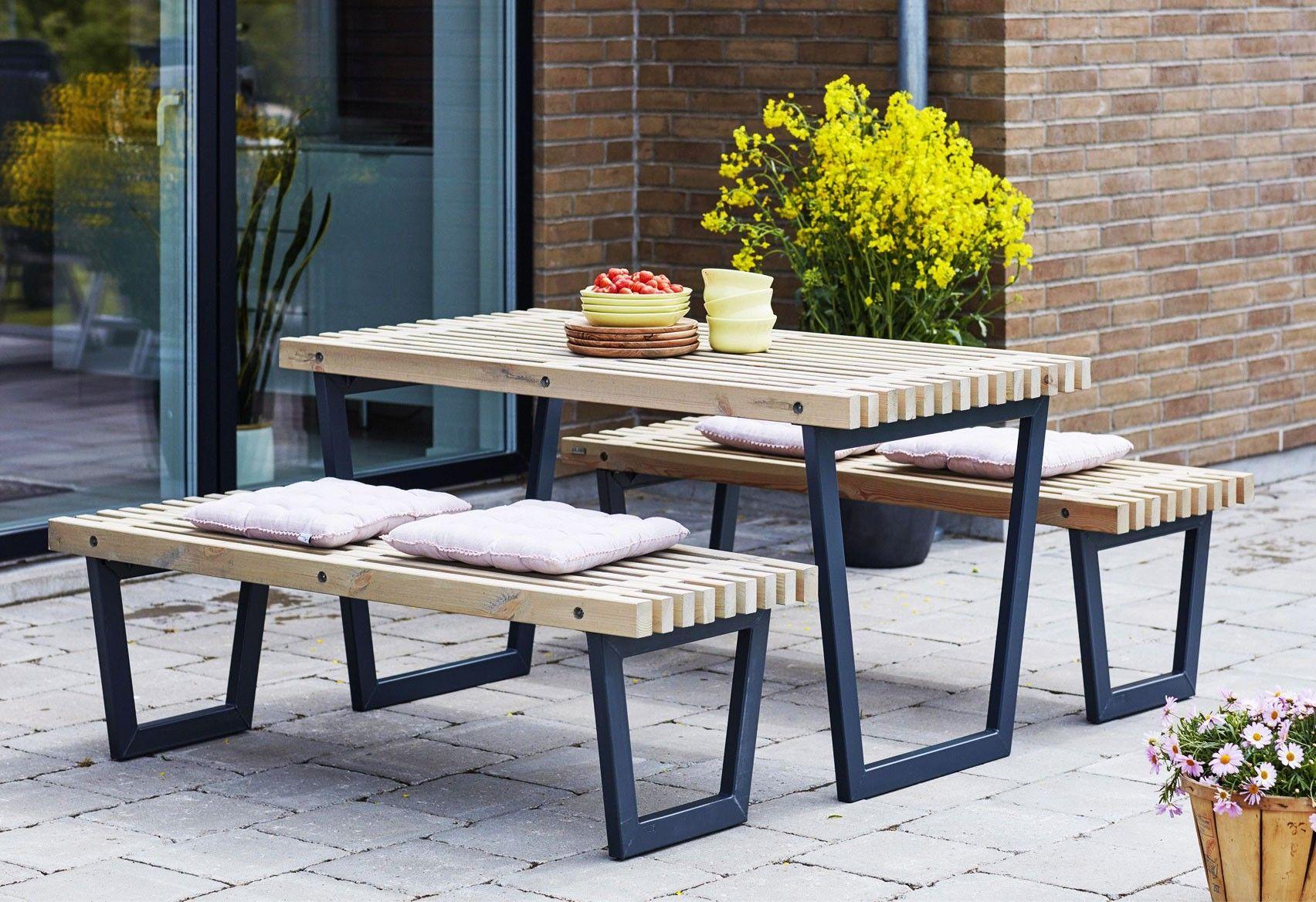 Woodinis Siesta Plus Gartenmobel Set Fur Garten U Balkon