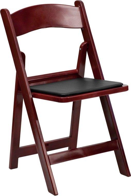 hercules series 1000 lb capacity red mahogany resin folding chair rh pinterest com