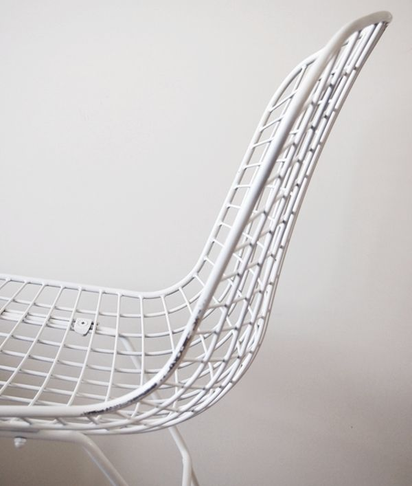Up close and personal - The Bertoia Chair http://www.nest.co.uk/search/knoll-bertoia-outdoor-side-chair