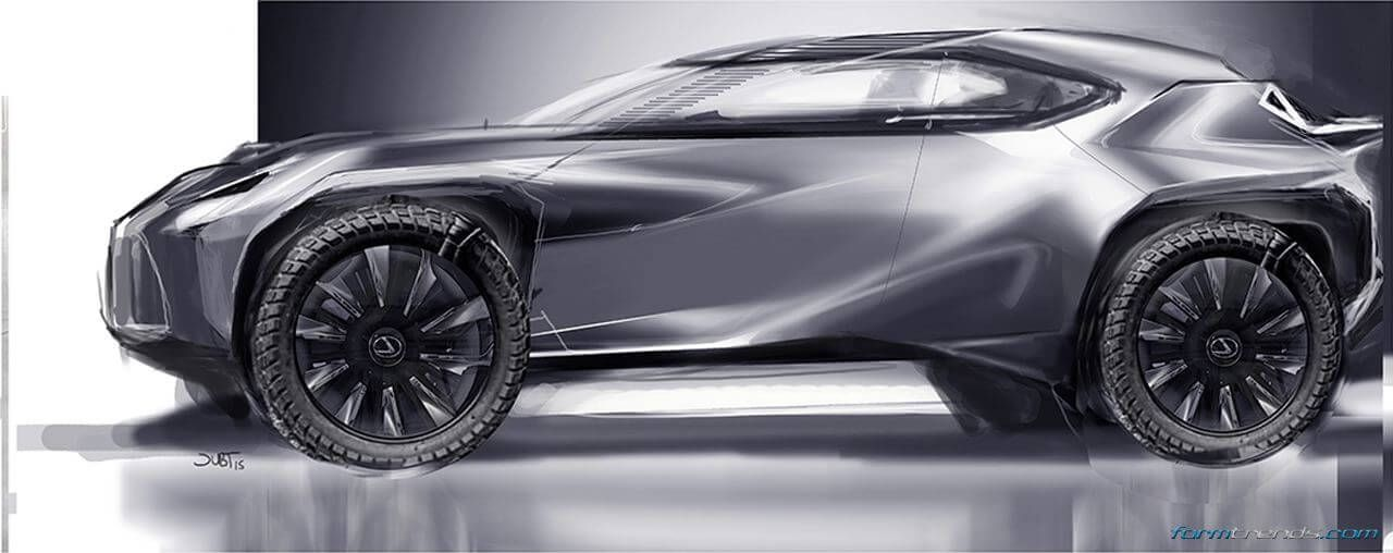 Toyota's ED2 studio designers Stephan Rasmussen (exterior) and Alexandre Gommier (interior) highlight some of the design details of the Lexus UX Concept.