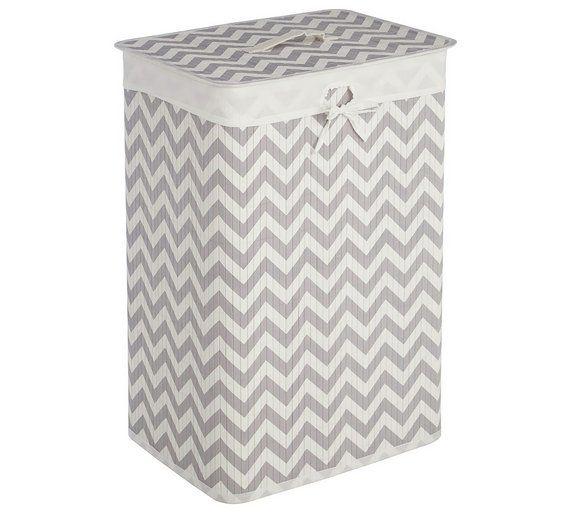 Buy Premier Housewares 72L Kankyo Bamboo Laundry Hamper at ...