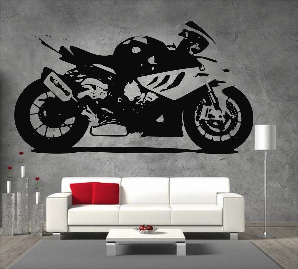 Bmw s 1000rr moto gp racing motor bike large vinyl sticker wall bmw s 1000rr moto gp racing motor bike large vinyl sticker wall art amipublicfo Choice Image