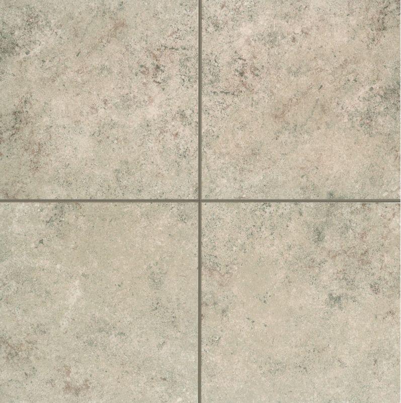 Mohawk Industries Brown Shell Ceramic MultiSurface Tile - 12 inch ceramic floor tiles