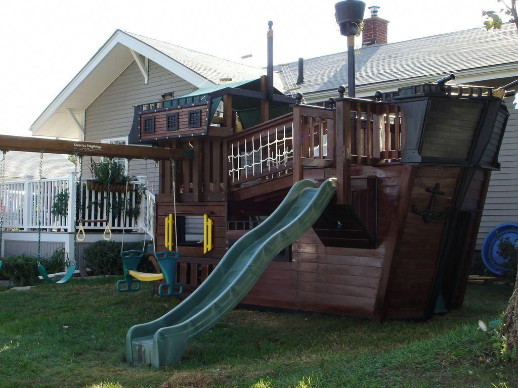 PDF Plans Playhouse Plans Pirate Ship Download cool wood ...
